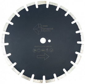 Disc DiamantatExpert pt. Asfalt, Caramida & Abrazive 400mm Profesional Standard - DXDY.EASF.400.25