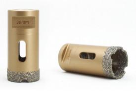 Carota diamantata pt. gresie portelanata & piatra - diam. 20mm - Premium - DXDY.GOLDrill.20