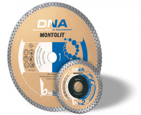 Disc diamantat Montolit DNA CTX230P - taiere uscata - pt. portelan,granit, etc.