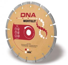 Disc diamantat Montolit DNA LX300 - taiere uscata - pt. beton, granit, piatra dura, etc.