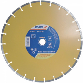 Disc diamantat pentru beton armat, granit si asfalt, diametru 150mm - Standard - H1154 - Dedra