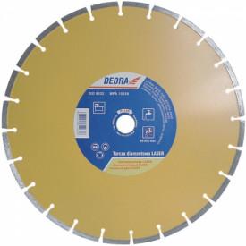 Disc diamantat pentru beton armat, granit si asfalt, diametru 350mm - Standard - H1160 - Dedra