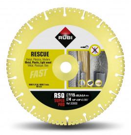 Disc diamantat pt. descarcerare 115mm, RSQ 115 Super Pro - RUBI-30900