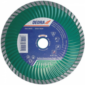 Disc diamantat pentru beton armat, diametru 115mm - Standard - H1142 - Dedra