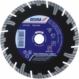 Disc diamantat pentru beton armat, diametru 250mm - Standard - H1198E - Dedra