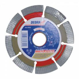 Disc diamantat pentru piatra naturala, diametru 125mm - Standard - H1093 - Dedra