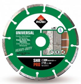 Disc diamantat pt. materiale de constructii 300mm, SHR 300 Pro - RUBI-32972