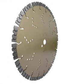 Disc DiamantatExpert pt. Beton armat extrem de dur & piatra - SHARK 400mm Super Premium - DXDY.2040.400
