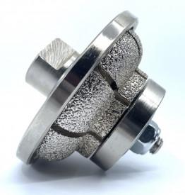 Freza Diamantata Profil L20mm pt. Marmura, Granit si Gresie - DXDY.FGM.D75L20