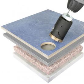 Carota diamantata Montolit FA 75 mm - pt. portelan, ceramica, granit, marmura