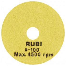 Dischete diamantate pt. polisat marmura, granit, piatra 100mm, #100 - RUBI-62971