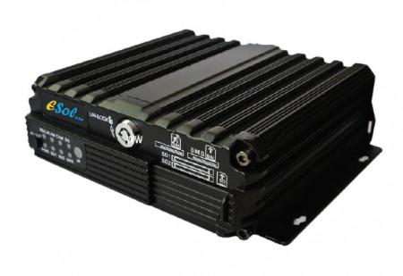 DVR Auto AHD, 4 canale, GPS, inregistrare pe SD card -AG4-2SD-HD
