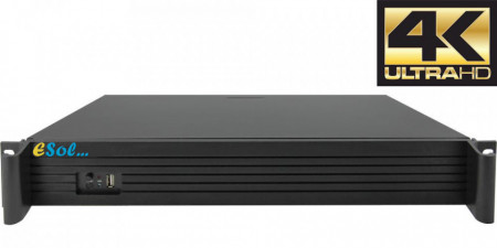 NVR 36 canale 4K H.265, real time recording & live - EN265/436