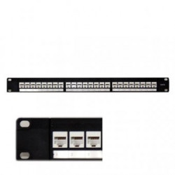 """Patch panel 24 porturi, RJ45 FTP Ecranat, Categorie 5e, 19""""/1U"""