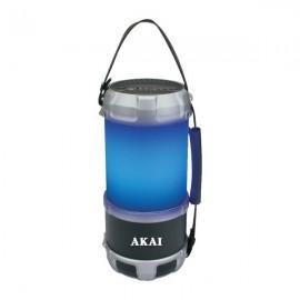 Boxa portabila felinar AKAI ,cu Bluetooth, USB, FM radio, 16W