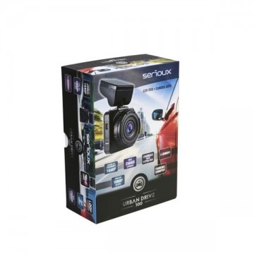 "Camera Auto Serioux Urban Safety 100 cu DVR, LCD 2"", Full HD"