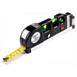 Nivela multifunctionala cu raza laser si ruleta incorporata
