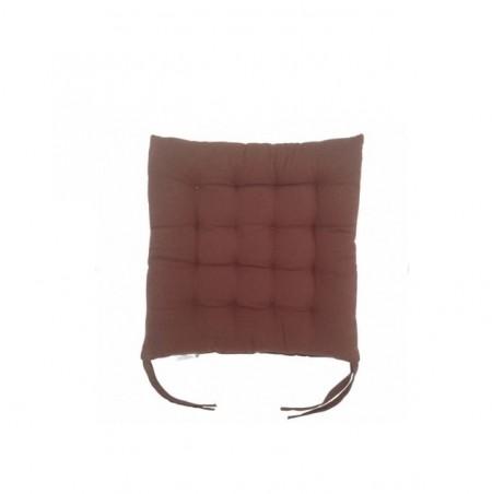 Perna decorativa pentru scaun, culare maro
