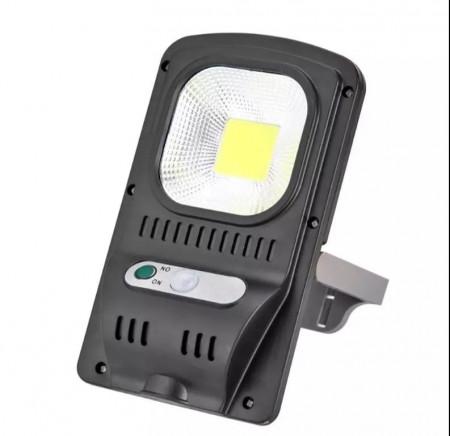 Lampa solara cu led, senzor miscare si panou solar