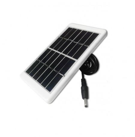 Bec economic cu led SMD + mini panou solar de 6V