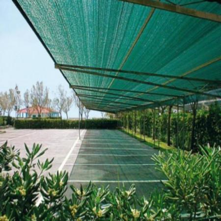 Plasa verde pentru gard 1.5 x 50 M, grad de umbrire 80%.