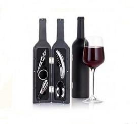 Set cadou pentru vin cu cinci accesorii