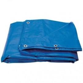 Prelata albastra impermeabila 6x8m- 130g/mp