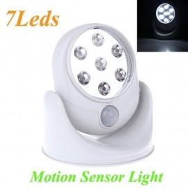 Lampa cu 7 led-uri, cu senzor de miscare si fara fir