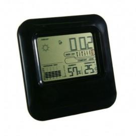 Ceas digital, termometru si higrometru pentru interior