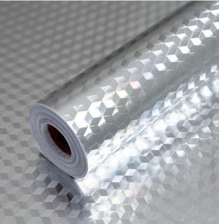 Folie de aluminiu autoadeziva bucatarie 40 x 500 cm