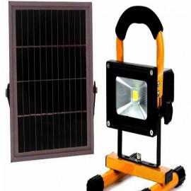 Lampa 10W cu panou solar