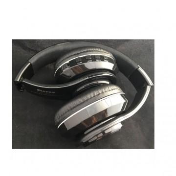 Casti stereo bluetooth wireless cu microfon si radio FM