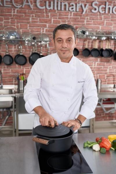Cratita cu capac, 20 cm, 2.7L (Negru) Taste of Home by Chef Sorin Bontea