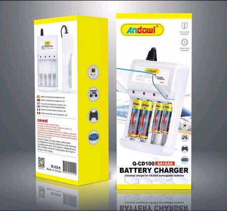 Incarcator universal pentru baterii reincarabile