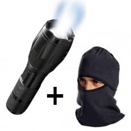 Lanterna LED Tac Light + Cagula cu protectie
