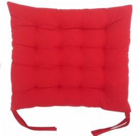 Perna decorativa pentru scaun, culoare rosu