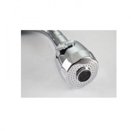 Pipa flexibila anticalcar pentru baterii sanitare D24 mm, cu 2 funcții