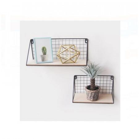 Set 2 Rafturi decorative dimensiuni diferite