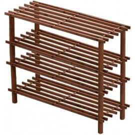 Etajera incaltaminte din lemn cu 4 rafturi