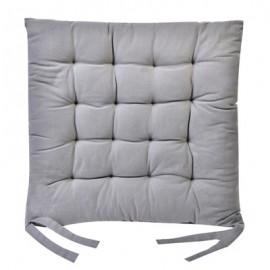 Perna decorativa pentru scaun, culoare gri