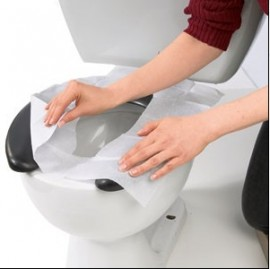 Set 10 folii de unica folosinta pentru vasul de toaleta