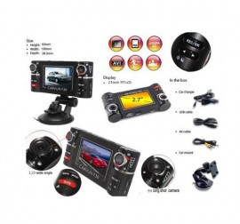 Camera auto cu 2 lentile rotative Night Vision F30