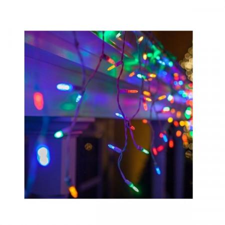 Instalatie tip franjuri cu 8 jocuri de lumini, lungime 12 m