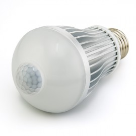 Bec LED de economisire a energiei cu senzor de miscare incorporat, 7W