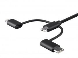 Cablu incarcare 3 in 1