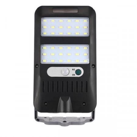 Lampa solara cu 36 led, senzor de miscare , senzor de lumina si panou solar
