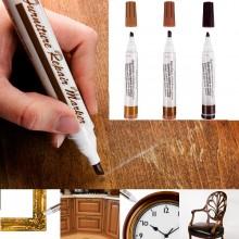 Set 3 markere corectoare pentru mobila, parchet sau alte obiecte din lemn