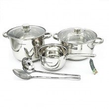 Set 7 pcs Oale Inox