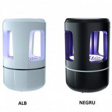 1+1 Aparat cu lampă UV împotriva insectelor/țantarilor, USB, Nova