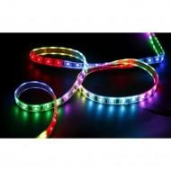 Banda LED 5m, cu telecomanda si joc de lumini multicolore! Vezi video!